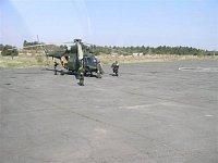 Z vojenského letiště se stala vrtulníková základna - VI
