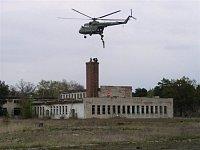 Práce jiného týmu ve spolupráci s vrtulníkem - II