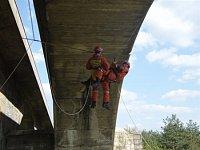 Výcvik na Pinočtově mostě - II