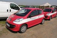 Den záchranářů mýma očima - nové Peugeoty