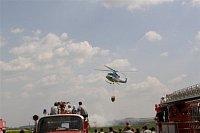 Den záchranářů mýma očima - policejní Bell 412 a bambi vak