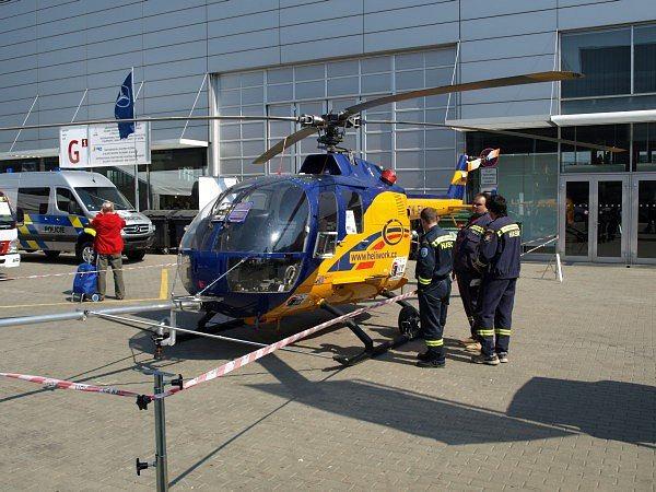 hasičský vrtulník ZHT Group