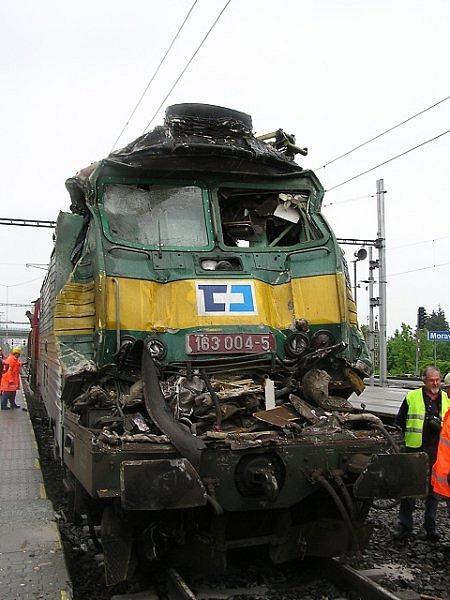 Železniční nehoda v Moravanech