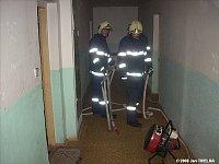 Požár bytu v Kopřivnici