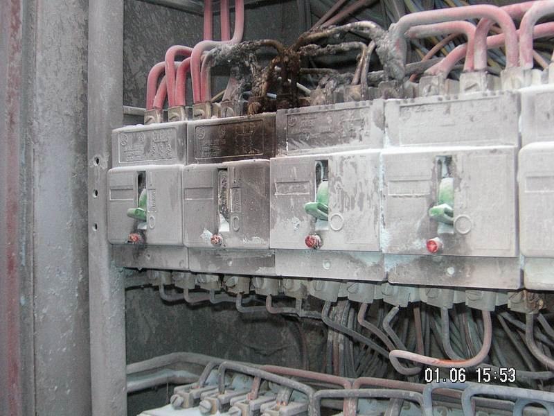 Požár elektrorozvaděče