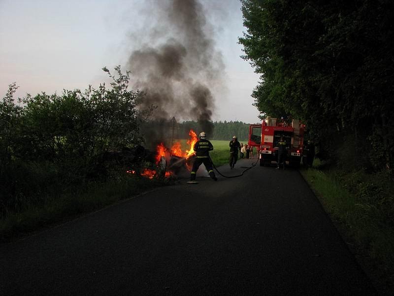 Požár OA v Líšově