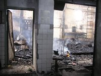 V Ostravě-Přívoze hořela bývalá výrobní hala