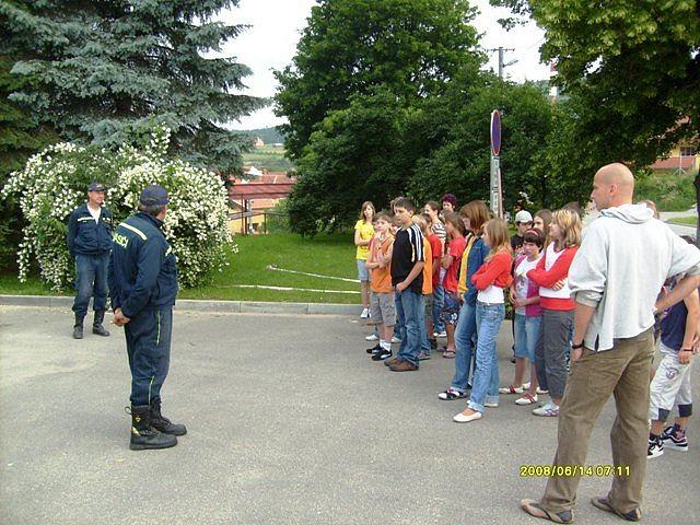 Den požární bezpečnosti v Kanicích na Brněnsku