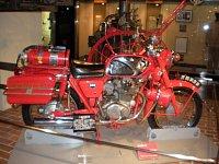 stará hasičská Honda v tokijském muzeu