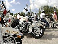 americká hasičská klasika - Harley-Davidson