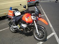 BMW frankfurtských hasičů