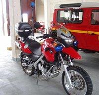 BMW francouzských hasičů