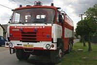 Tatra po předání z Kolína