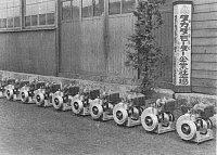 Generátory pro japonskou armádu