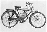 Motocykl Tohatsu 78 ccm z roku 1948