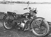 Motocykl TOHATSU 98 ccm z roku1952