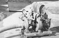 První čerpadlo C1 z roku 1949