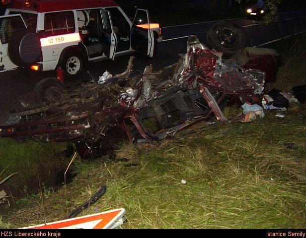 nehoda Subaru