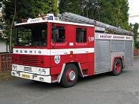 nejstarší Dennis u nás, typ RS 133 HS Český Brod