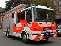 Dennis Rapier XL hasičů německého Frankfurt