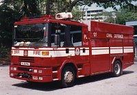 Dennis Sabre singapůrských hasičů