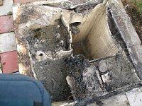 Požár zničil domovní čistírnu odpadních vod