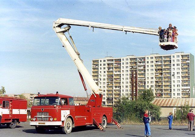 Š706 RTO SS-65 Simon u řepských hasičů – foto Jan Arazim