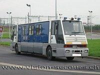 policejní speciál Mercedes/JDC Eurotunnel