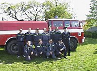 požární družstvo Blata 2004