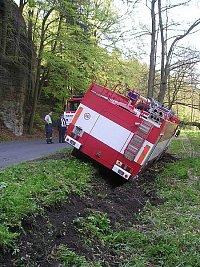 nehoda 2.5. 2008 v 10.30 hod.