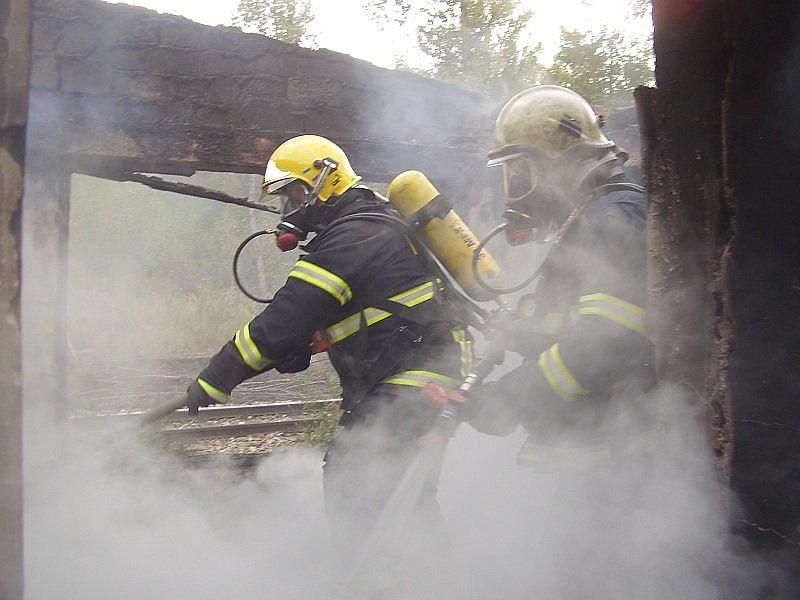 požár Řeporyje