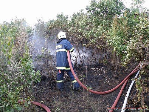 Ilustrační foto - hasiči Brno