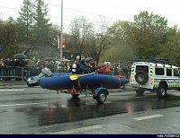 Městská policie Praha - člun i s potápěčem