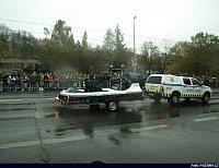 Městská policie Praha a její vznášedlo