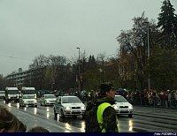 přijíždí Policie ČR