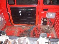Auto před opravou