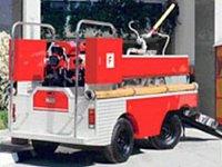 požární mini přívěs