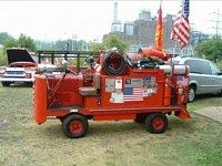 """americká hasičská ,,ještěrka"""""""