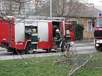 Mercedes 1124 Rosenbauer TLF 2000 AT - Roham-2 v podobě před nehodou u jednoho ze zásahů