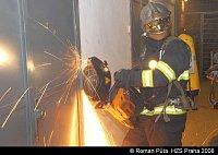 Požár Praha 10 Vyžlovská ulice