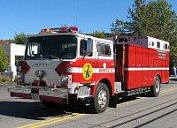 MACK CF Heavy Rescue - podvozek pochází původně z žebříku FDNY