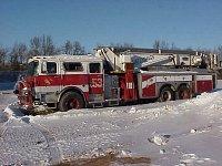 MACK CF/BAKER Aerialscope 75 FDNY - Ladder 153 dnes...