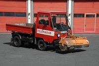 Multicar M25 hasičský smeták/SRN