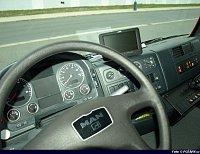 volant a přístrojovka