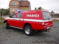 Mitshubishi L200 hasiči Čistá u Horek
