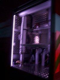 LEDkové osvětlení vnitřku od PAC