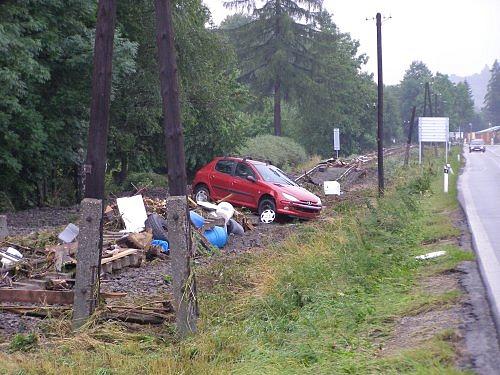 povodeň MSK 2009 - foto Martin Sedlář/HZS MSK ÚO NJ