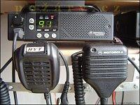 porovnání - vlevo externí HYT, vpravo starší externí Motorola