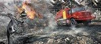 Mercedes Zetros v hasičském provedení