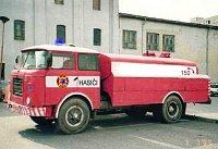 upravený Trambus pro požární účely